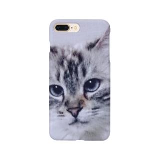 ぬーん猫どアップ Smartphone cases