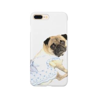 えりおりのパグちゃん Smartphone cases
