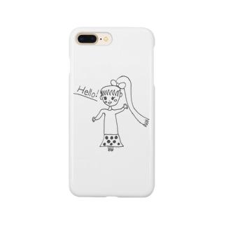 Hello!な女の子~♪ Smartphone cases