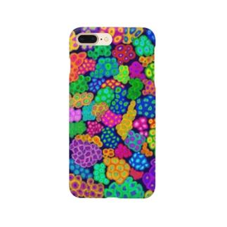 カラフルな珊瑚(マメスナギンチャク) Smartphone Case