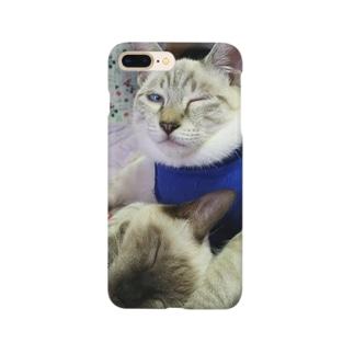 cahaco's shopのましゅー&ゆず Smartphone cases