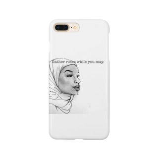 Gather roses while you may. Smartphone cases