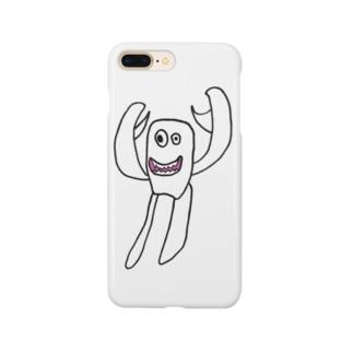 小学生のオリジナルキャラクターふわっち Smartphone cases