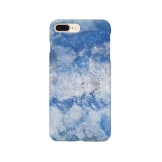 青を纏う Smartphone cases