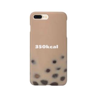 タピオカミルクティー Smartphone cases