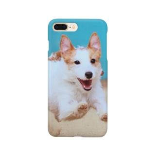 にこにこジャックさん 飛行犬 Smartphone cases