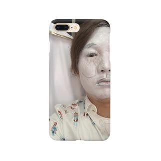 守りたい正義!白塗りシウバ Smartphone cases