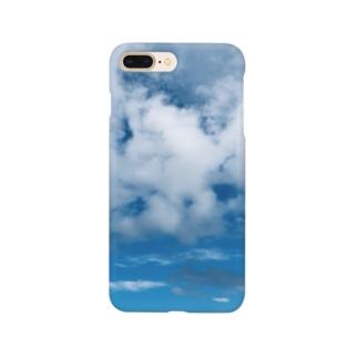 雲がもくもく Smartphone cases