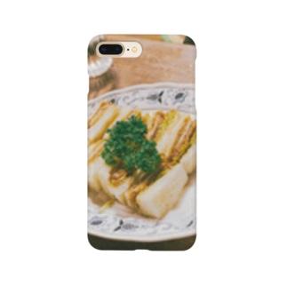 お婆ちゃんのカツサンド Smartphone cases