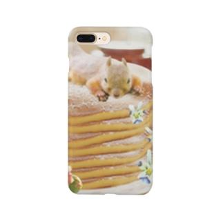 パンケーキとリス Smartphone cases