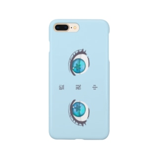 監視中❤︎スマホケースBlue Smartphone cases