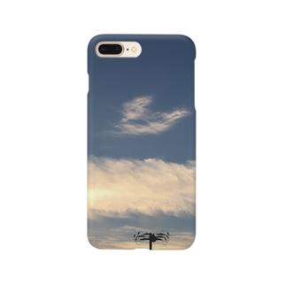 ハートに見えたからパシャり Smartphone cases