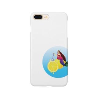 美女とレモン Smartphone cases