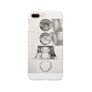 牛乳スマホケース Smartphone cases