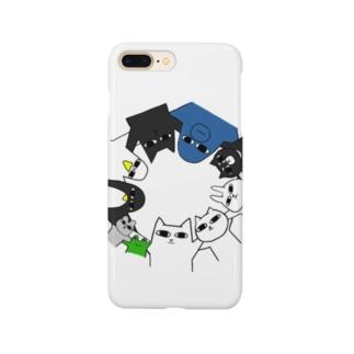 ググとビビと愉快な仲間たち Smartphone cases