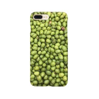 オリーブたくさん Smartphone cases