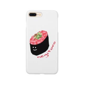 ねぎとろちゃん Smartphone cases