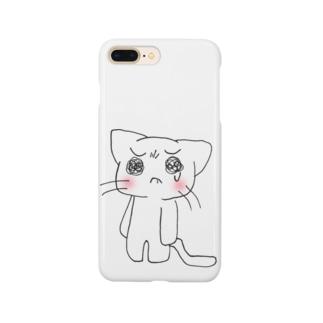 泣き虫にゃんこ Smartphone cases