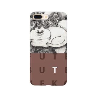 ふてぶて猫 Smartphone cases