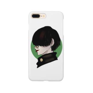 黒髪やんきーくん(仮) Smartphone cases