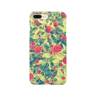 まるはな(赤) Smartphone cases