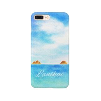 ラニカイビーチ Smartphone cases