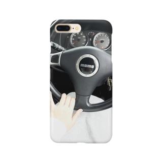 運転席の風景 Smartphone cases