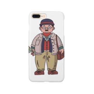 厚着おじさん Smartphone cases