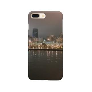 港の夜景 Smartphone cases