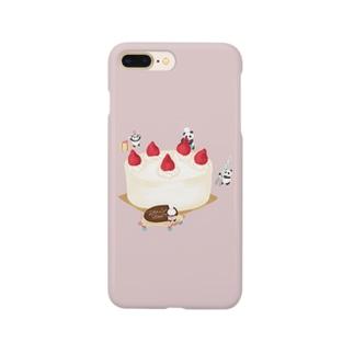 パンダさんのケーキ Smartphone cases