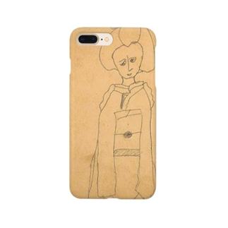 昭和のらくがき・舞妓さん Smartphone cases