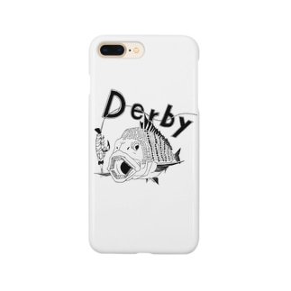 釣りダービー クロダイ  Smartphone cases