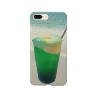 海辺のソーダフロート Smartphone cases