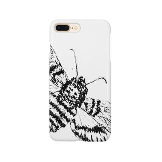 クロメンガタスズメ Smartphone cases