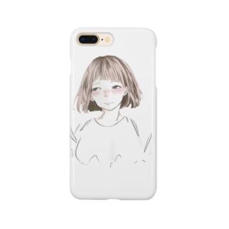 赤面少女 Smartphone cases