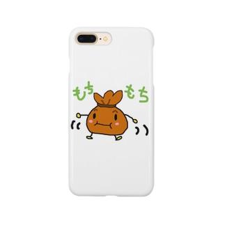 もちきんちゃくん Smartphone cases