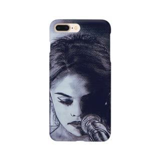 iPhoneケース (Selena Gomez ver.) Smartphone cases