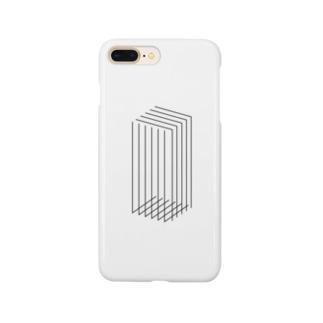 Rectangle(white) Smartphone cases