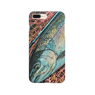 レインボートラウト Smartphone cases