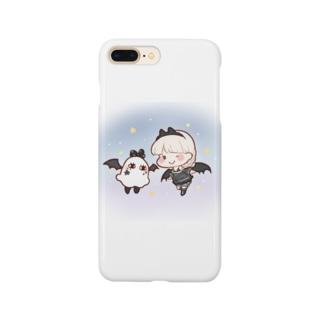 小悪魔ちゃんとメジェドさん Smartphone cases
