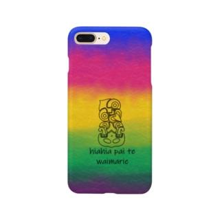カラフルなTiki Smartphone cases