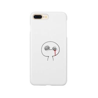 くるぐるくる Smartphone cases