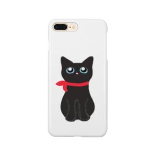 くろねこのむーちゃん Smartphone cases