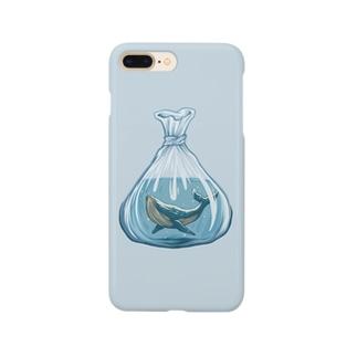 クジラ The Whale Smartphone cases