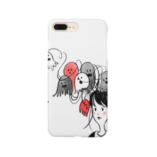 髪の毛おばけガール Smartphone cases