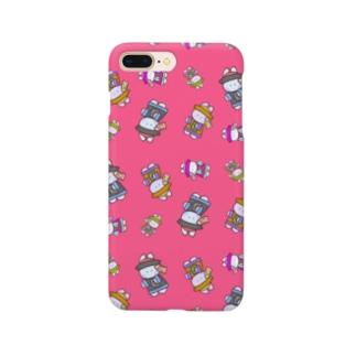 うさぎょんし〜 (ぴんく) Smartphone cases