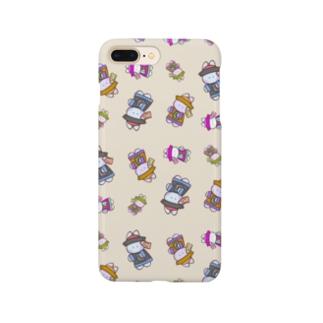 うさぎょんし〜 (くり〜む) Smartphone cases