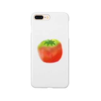 なんとなくトマト Smartphone cases