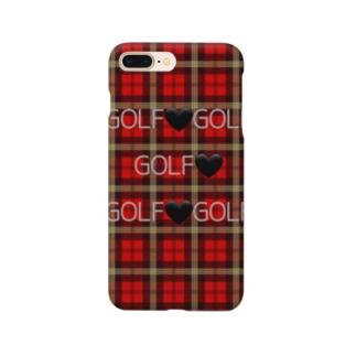 ゴルフチェック Smartphone cases