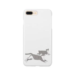 背くらべ Smartphone cases